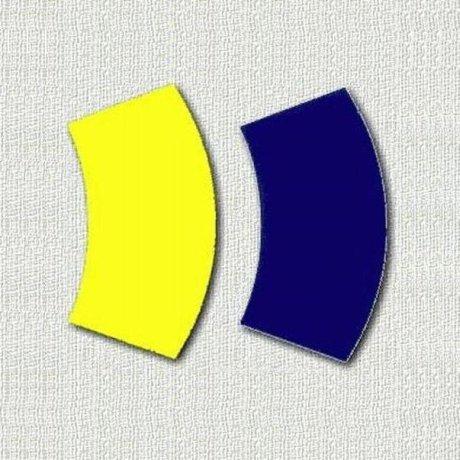 Зрительные искажения - Два сектора - Графическая головоломка