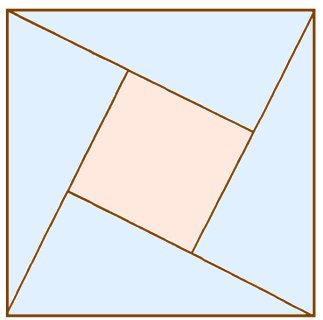 как разделить квадрат на 5 равных частей фото